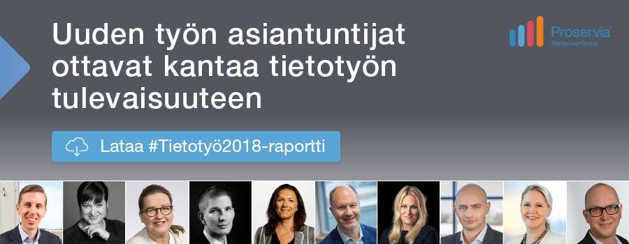 Lataa #Tietotyö2018-raportti tästä